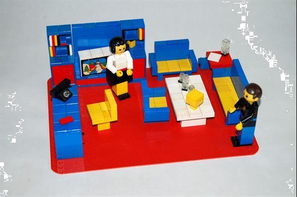 Grote foto lego vintage homemaker living room set 264 kinderen en baby duplo en lego