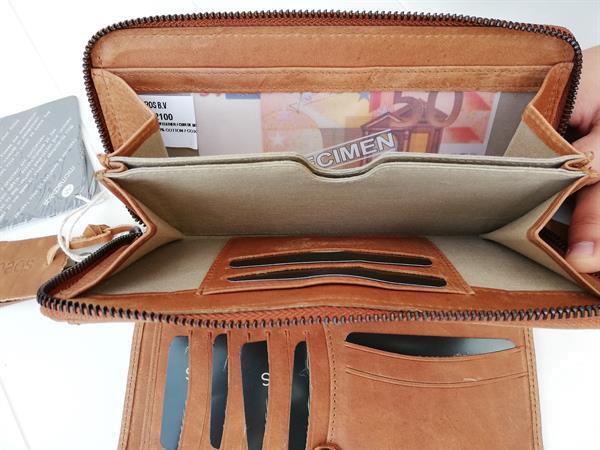 Grote foto micmacbags tennessee portemonnee cognac sieraden tassen en uiterlijk damestassen