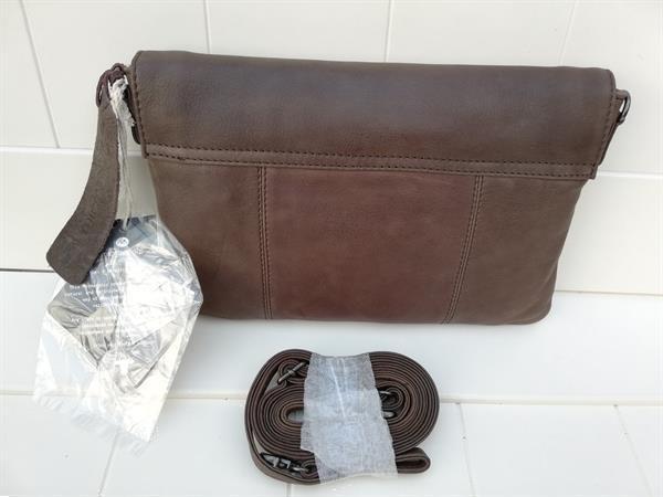 Grote foto nieuwe micmacbags tennessee clutch donkerbruin sieraden tassen en uiterlijk damestassen