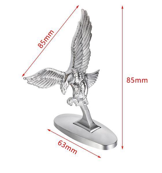Grote foto 3d eagle arend motorkap motor spatbord nieuw auto diversen tuning en styling