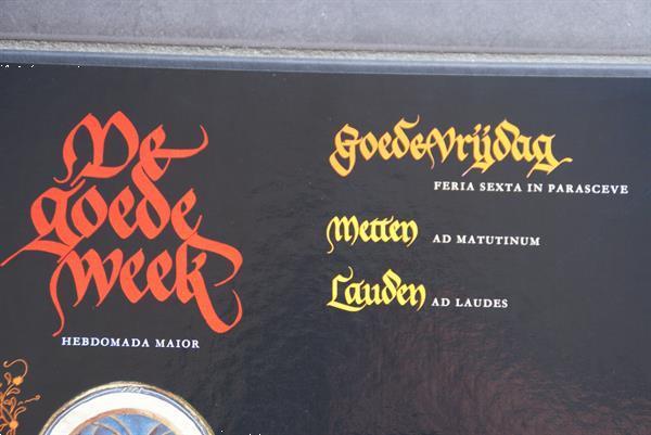 Grote foto 19 lp de goede week gregoriaans koor cd en dvd overige