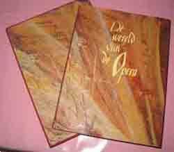 Grote foto de wereld van de opera boeken muziek