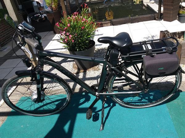 Grote foto electrische herenfiets fietsen en brommers herenfietsen