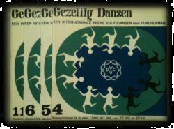 Grote foto gezellig dansen boekje 4 5 6 11 huig hofman boeken muziek