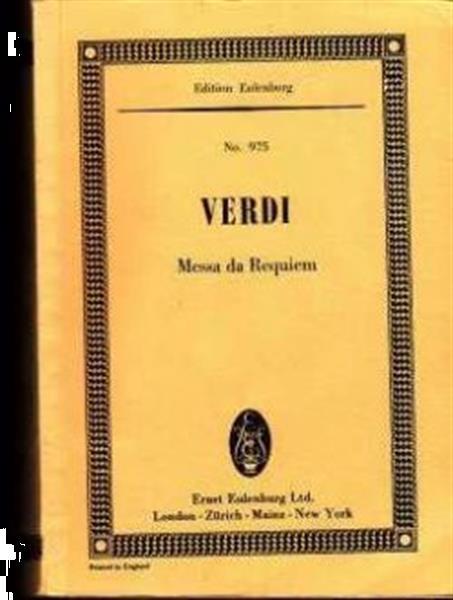 Grote foto verdi nr. 975 messa da requiem boeken muziek