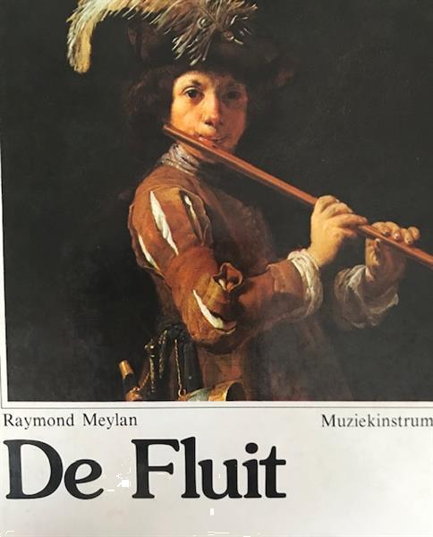 Grote foto de fluit raymond meylan boeken muziek