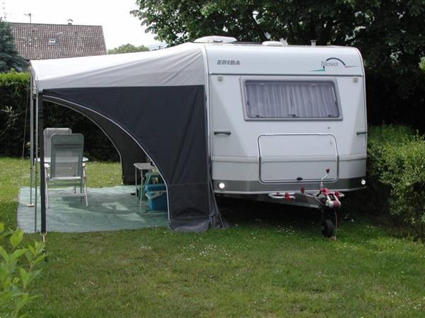 Grote foto caravan eriba hymer nova 490 caravans en kamperen caravans