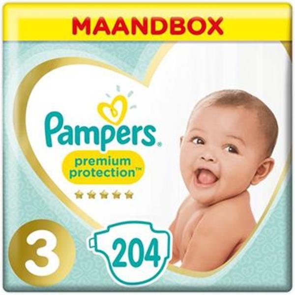 Grote foto pampers premium protection maat 3 6 10 kg kinderen en baby badjes en verzorging