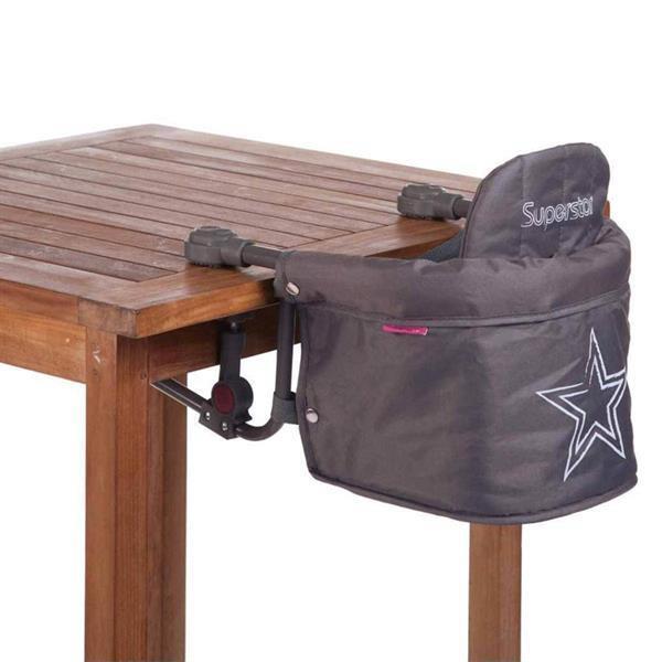 Grote foto childwheels tafelhangstoel superstar antraciet cwtsup kinderen en baby kinderstoelen