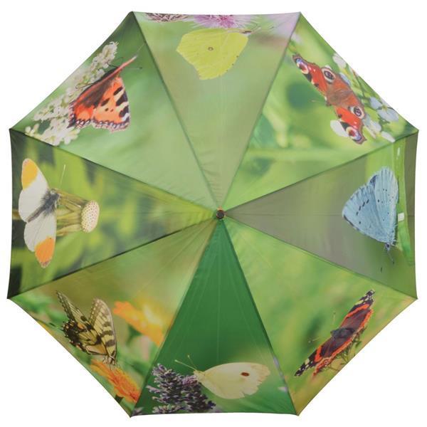 Grote foto esschert design paraplu butterflies 120 cm tp211 kleding dames sieraden