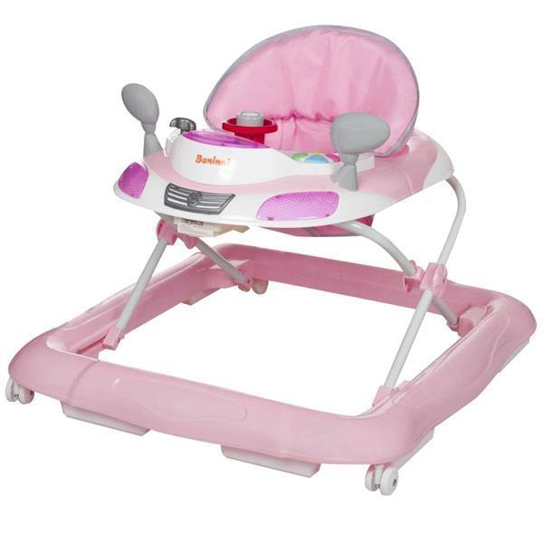 Grote foto baninni loopstoel tontoni roze bnbw005 ppk kinderen en baby overige babyartikelen