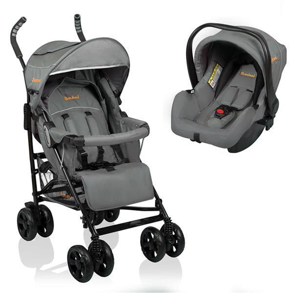 Grote foto baninni buggy messina 2in1 night edition grijs bnst027 gy kinderen en baby kinderwagens