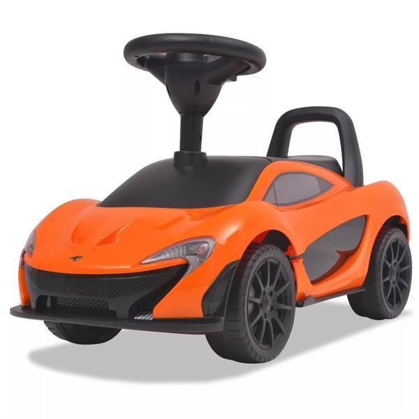 Grote foto vidaxl loopauto mclaren p1 oranje kinderen en baby los speelgoed