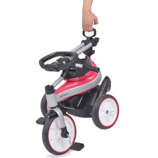 Grote foto vidaxl kinderdriewieler bmw roze kinderen en baby los speelgoed