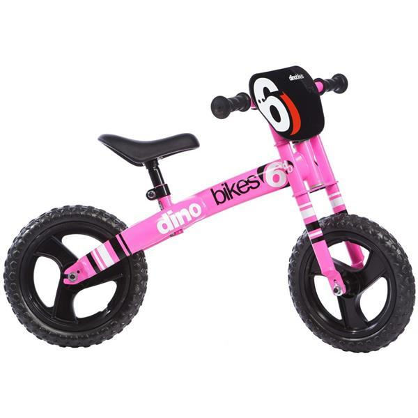 Grote foto dino bikes loopfiets runner fuchsia dino356001 kinderen en baby los speelgoed