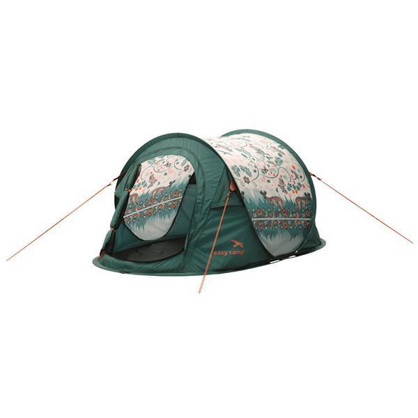 Grote foto easy camp pop up tent daybreak 200 groen 120257 caravans en kamperen tenten