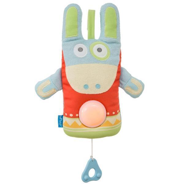 Grote foto taf toys muziek trekpop ezel 11775 kinderen en baby overige babyartikelen