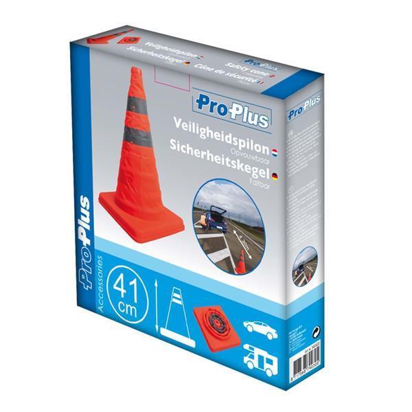 Grote foto proplus opvouwbare veiligheidspilon 540320 zakelijke goederen overige zakelijke goederen