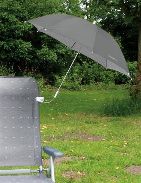 Grote foto eurotrail stoel parasol grijs 19ga 50 tuin en terras tuinmeubelen
