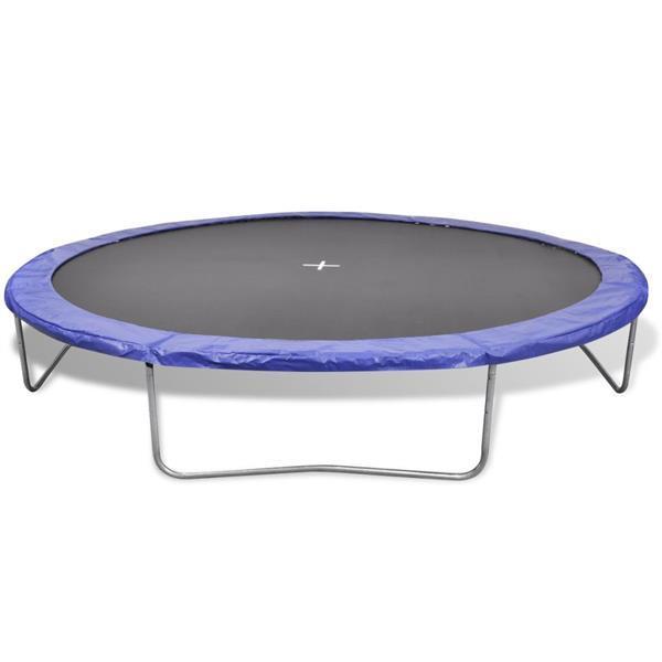 Grote foto vidaxl trampolineset 5 delig 3 96 m kinderen en baby los speelgoed