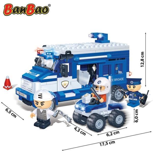 Grote foto banbao gevangenentransportwagen 8346 kinderen en baby duplo en lego