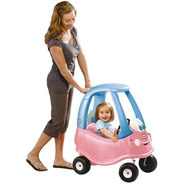 Grote foto little tikes loopauto cozy coupe prinses roze kinderen en baby los speelgoed