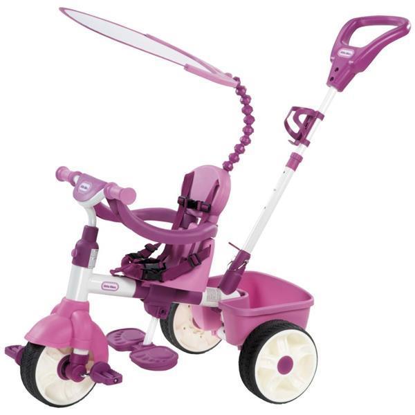 Grote foto little tikes deluxe trike 4 in 1 roze kinderen en baby los speelgoed