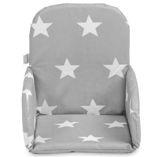 Grote foto jollein stoelverkleiner little star dark grey 019 531 65009 kinderen en baby complete kinderkamers