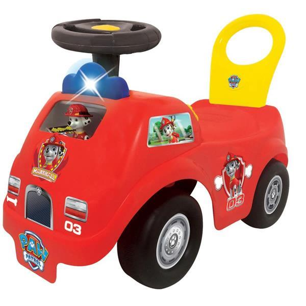 Grote foto kiddieland paw patrol marshall brandweerauto loopwagen 54247 kinderen en baby los speelgoed
