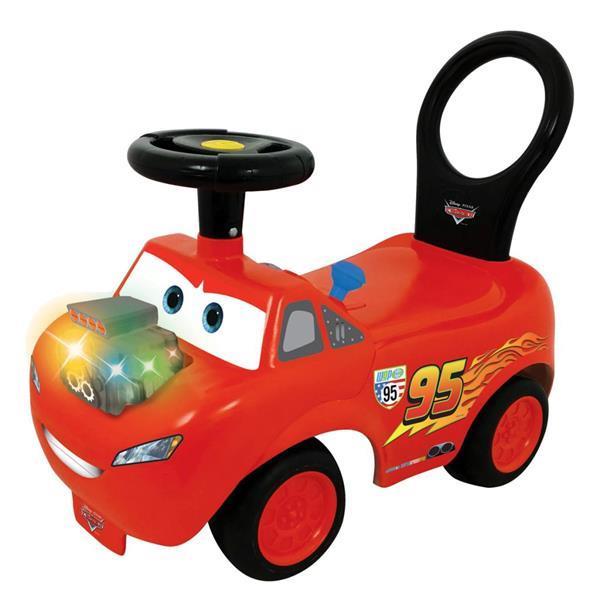 Grote foto kiddieland disney pixar loopwagen mcqueen 53488 kinderen en baby los speelgoed