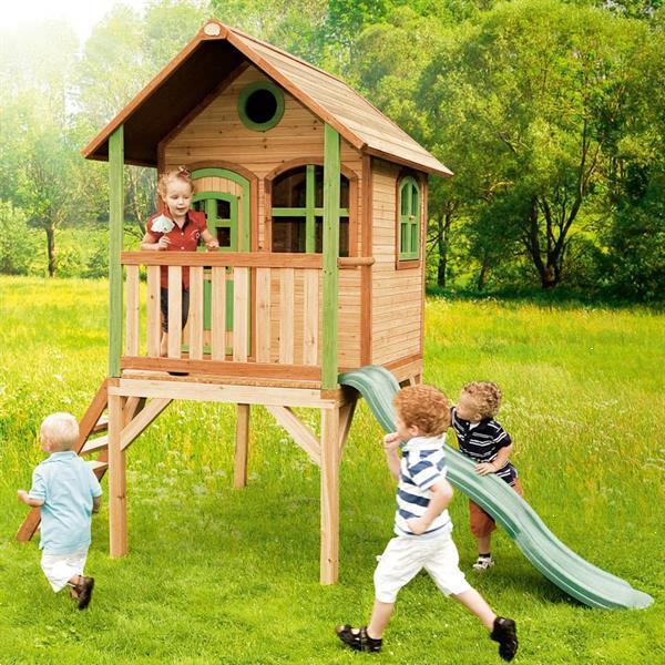 Grote foto axi speelhuis laura hout kinderen en baby los speelgoed