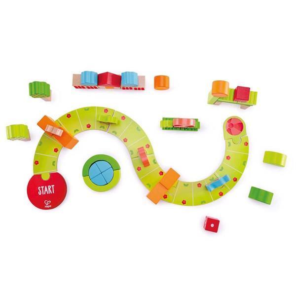 Grote foto hape sunny valley speelblokken e0449 kinderen en baby duplo en lego