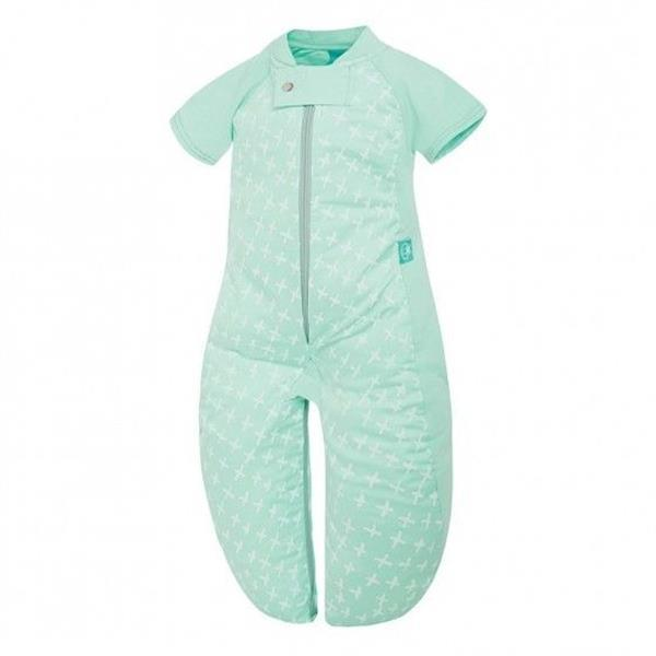 Grote foto zomer slaapsuit bag organic cotton mint cross 1.0 tog kinderen en baby overige
