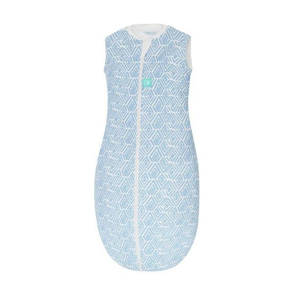 Grote foto organic cotton tribal blue jersey winter slaapzak 2.5 to kinderen en baby overige