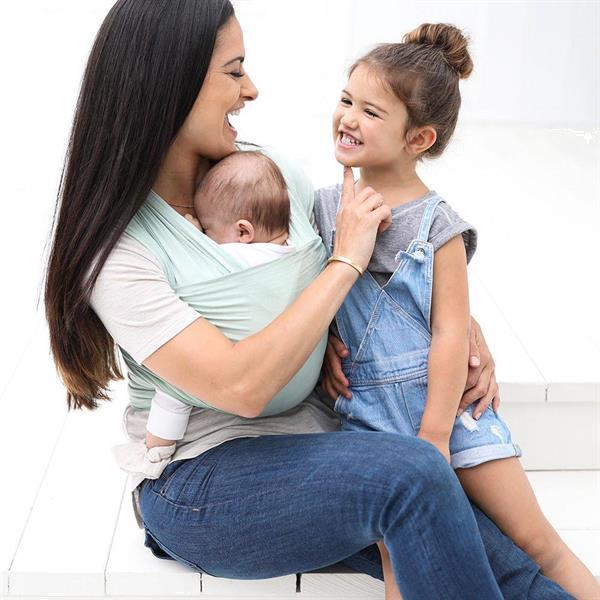 Grote foto draagdoek aura wrap sage kinderen en baby overige babyartikelen