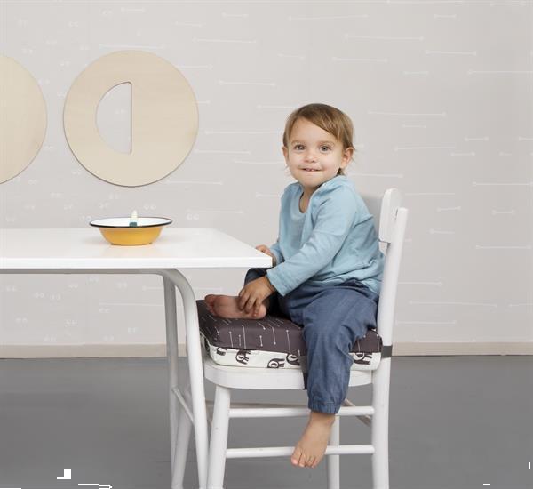 Grote foto booster cushion stoelverhoger pijlen olifanten verhoogku kinderen en baby kinderstoelen