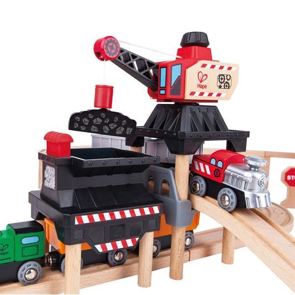Grote foto hape speelgoed mijnbouwset voor het lossen en laden e3752 kinderen en baby overige