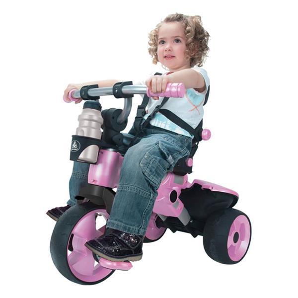 Grote foto injusa city pink driewieler 3262 kinderen en baby los speelgoed