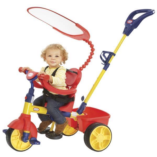 Grote foto little tikes trike 4 in 1 basiseditie kinderen en baby los speelgoed
