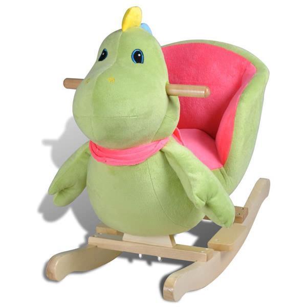 Grote foto vidaxl hobbeldier dinosaurus kinderen en baby kinderstoelen