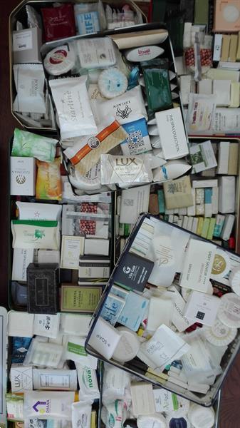 Grote foto verzameling hotel zeepjes verzamelen complete verzamelingen en collecties