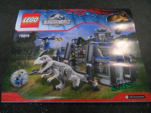 Grote foto lego boekje 75919 kinderen en baby duplo en lego