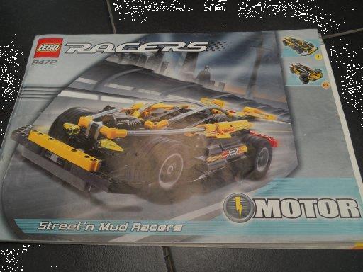 Grote foto lego instructie boekje 8472 kinderen en baby duplo en lego