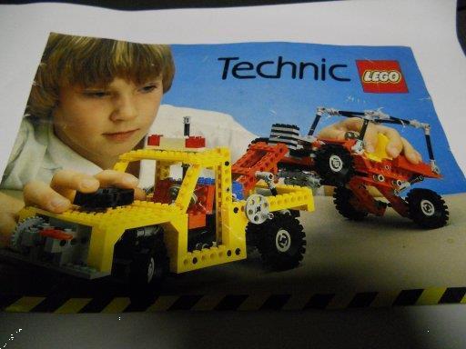 Grote foto boekje technic kinderen en baby duplo en lego