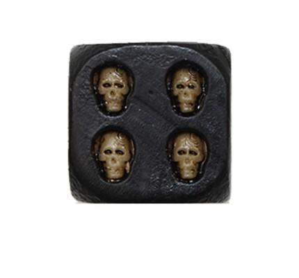 Grote foto dice of death 5 stks set dobbelstenen nieuw hobby en vrije tijd gezelschapsspellen overige