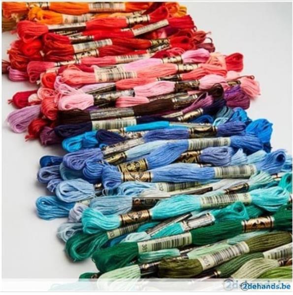 Grote foto dmc garens alle kleuren verkrijgbaar hobby en vrije tijd borduren