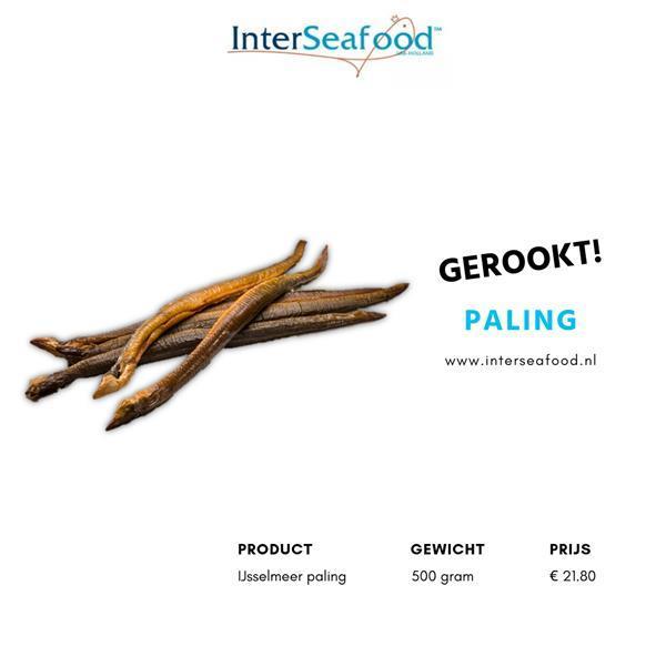 Grote foto gerookte ijsselmeer paling diversen levensmiddelen