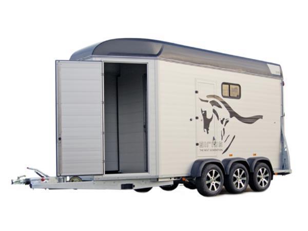 Grote foto sirius s90 alu living490 x 171 3500 kg paardentrailer dieren en toebehoren paarden accessoires