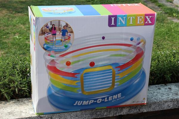 Grote foto intex trampoline jump o lene kinderen en baby trampolines en springkussens