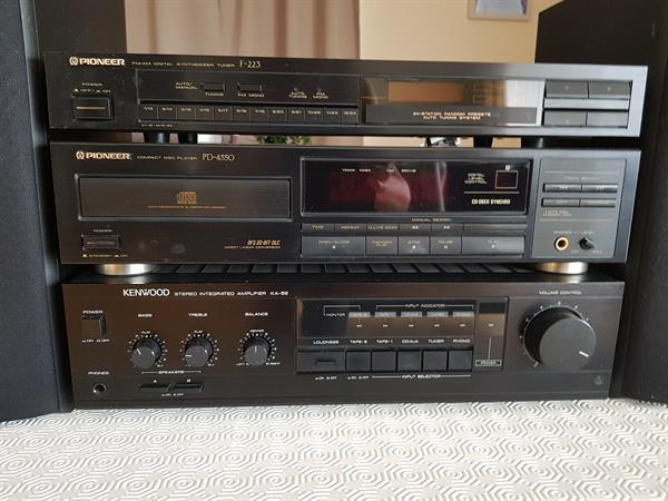 Grote foto stereo installatie audio tv en foto stereo sets